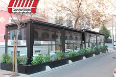 Cerramientos de terraza para hostelería