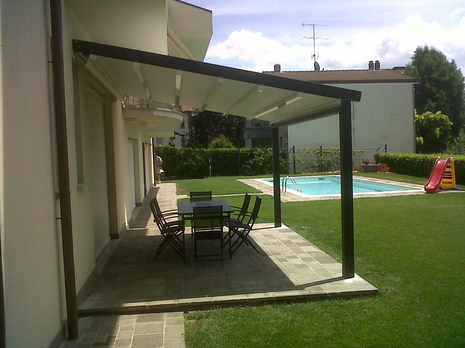 P rgola gennius a100 confortoldo - Pergola para terraza ...
