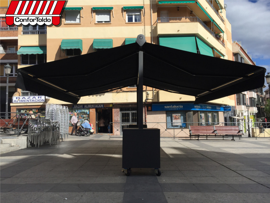 Toldo extensible doble confortoldo for Toldos impermeables