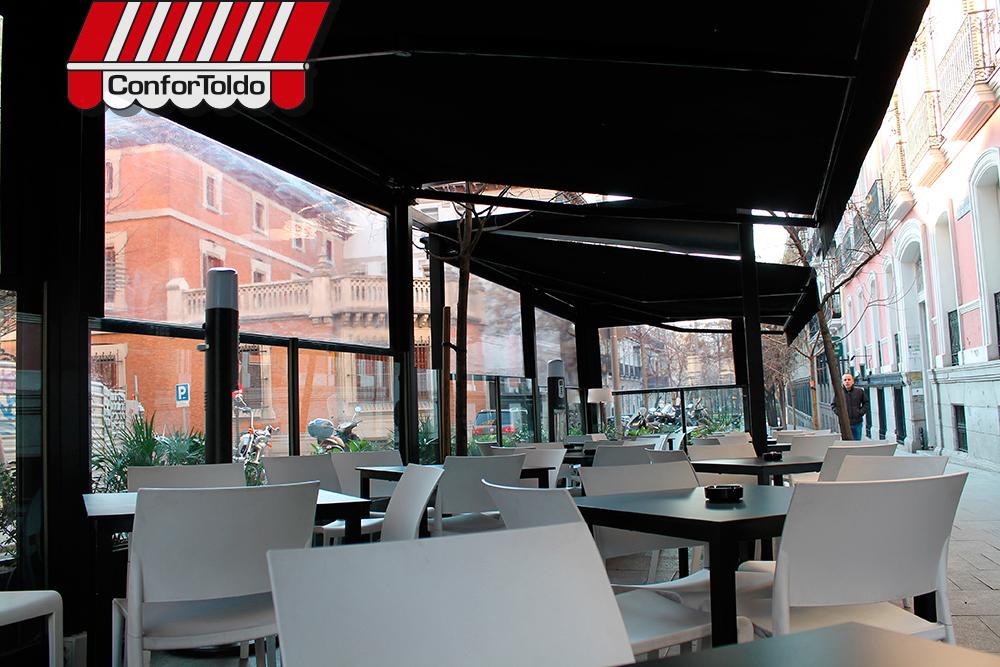 Cerramientos de terraza para hosteler a confortoldo - Cortavientos terraza ...