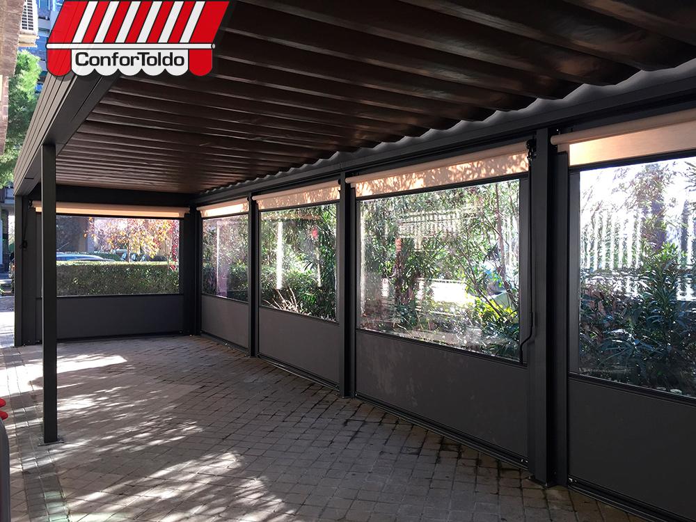 Cerramientos de terraza para hosteler a confortoldo - Cerramientos de terraza ...