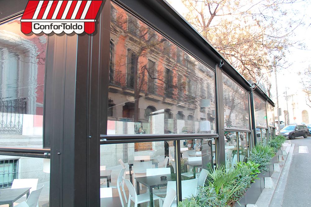 Cerramientos de terraza para hosteler a confortoldo - Cerramientos de pvc para terrazas ...