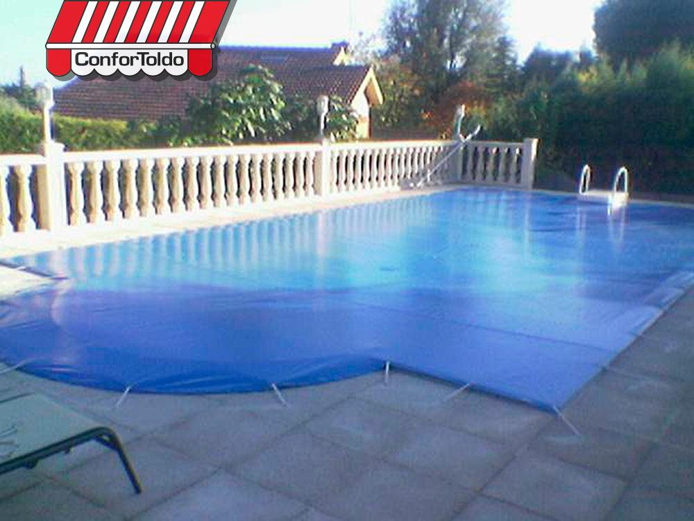 Cobertores de piscina confortoldo for Cobertores para piscinas precios