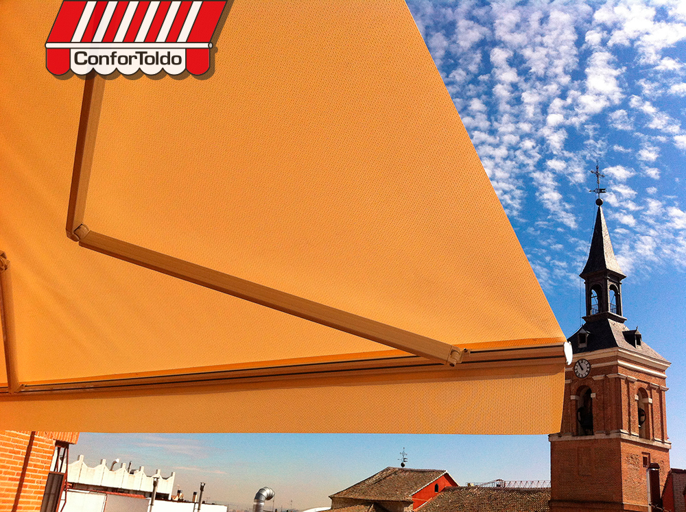 Toldo extensible confortoldo for Precio toldos extensibles