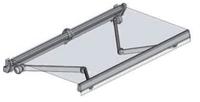 Toldo extensible modelo monobloc utilizado para cubrir una gran superficie