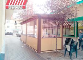 Cerramientos de terraza para hostelería 001
