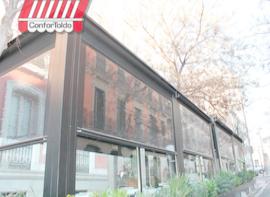 Cerramientos de terraza para hostelería 007