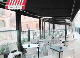 Cerramientos de terraza para hostelería 010
