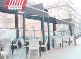 Cerramientos de terraza para hostelería 011