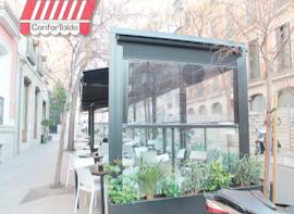 Cerramientos de terraza para hostelería 020