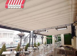Cerramientos de terraza para hostelería 025