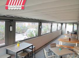 Cerramientos de terraza para hostelería 037