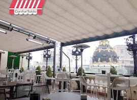 Cerramientos de terraza para hostelería 076