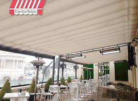 Cerramientos de terraza para hostelería 079