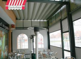 Cerramientos de terraza para hostelería 080