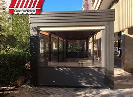 Cerramientos de terraza para hostelería 091