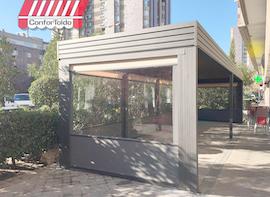 Cerramientos de terraza para hostelería 093