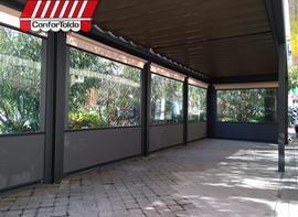 Cerramientos de terraza para hostelería 095