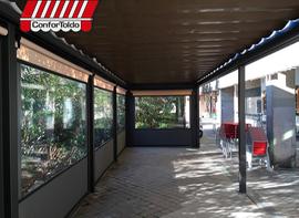 Cerramientos de terraza para hostelería 098
