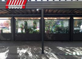 Cerramientos de terraza para hostelería 099
