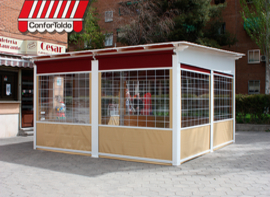 Cerramientos de terraza para hostelería 113