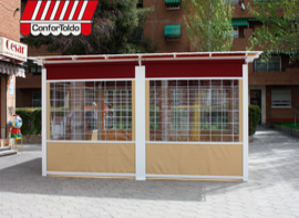 Cerramientos de terraza para hostelería 115