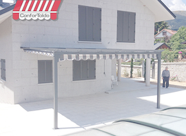 Pérgola de pared 001