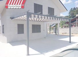 Pérgola de pared 003