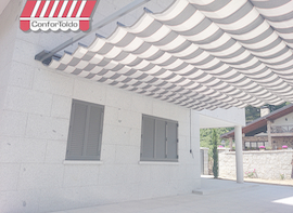 Pérgola de pared 004