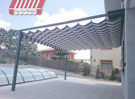 Pérgola de pared 005
