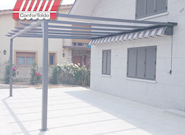 Pérgola de pared 011