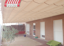 Pérgola de pared 022