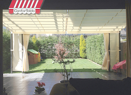 Pérgola de pared 030