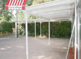 Pérgola de pared 084